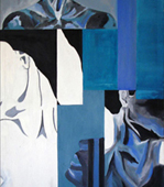 <i>Fragments</i>. Oil painting. 120x30 - 120x50 cms. 2003.