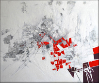 Cartography series. Oil painting. 80 x 60 cms. 2008.