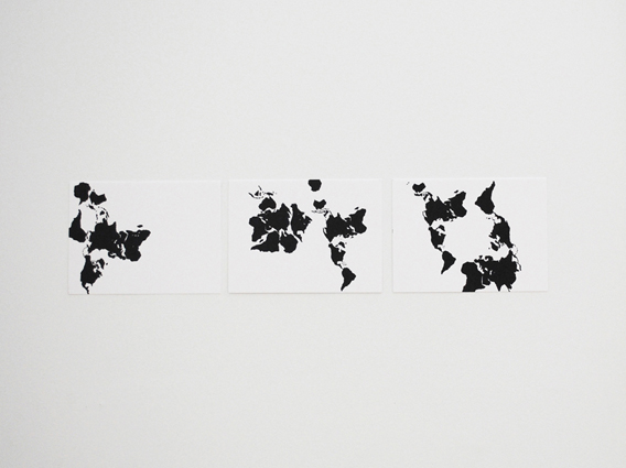 Maps. Variable dimensions. 2013.